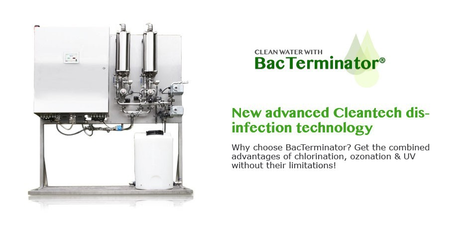 BacTerminator® Cleantech Disinfection Technology