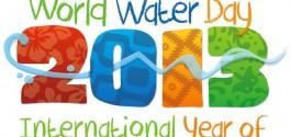 UN WATER World Water Day 2013